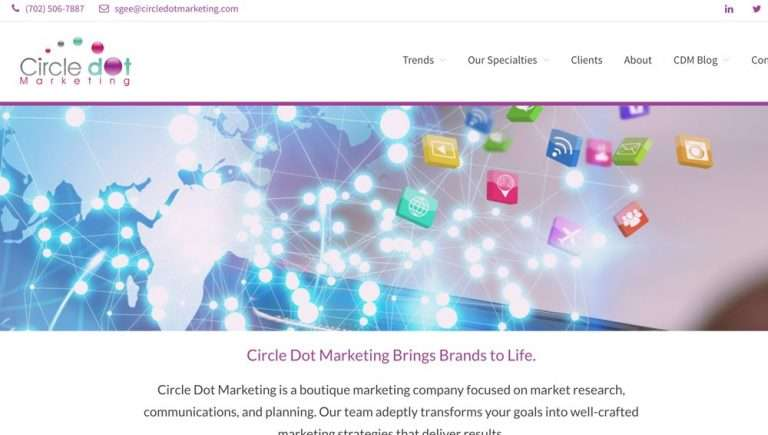 Circle Dot Marketing by Haunted Mesa Design