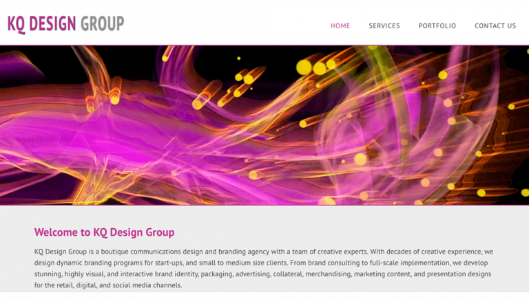 KQ Design Group by Haunted Mesa Web Design